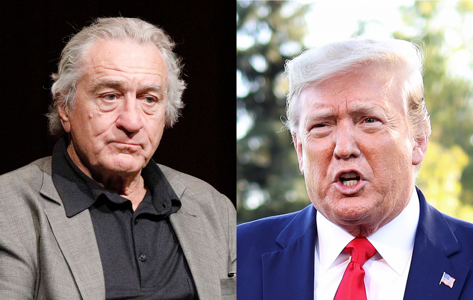 "Robert De Niro ""can't wait"" to see Donald Trump in jail"