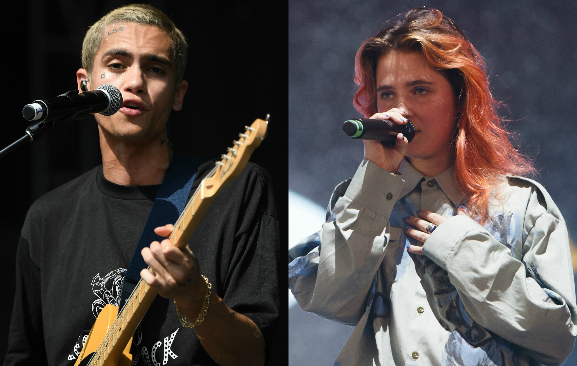 Watch Dominic Fike perform live cover of Clairo's 'Bags'