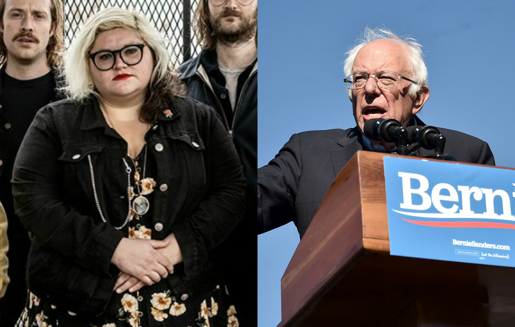 Sheer Mag respond after Bernie Sanders played 'Expect The Bayonet' at New York rally