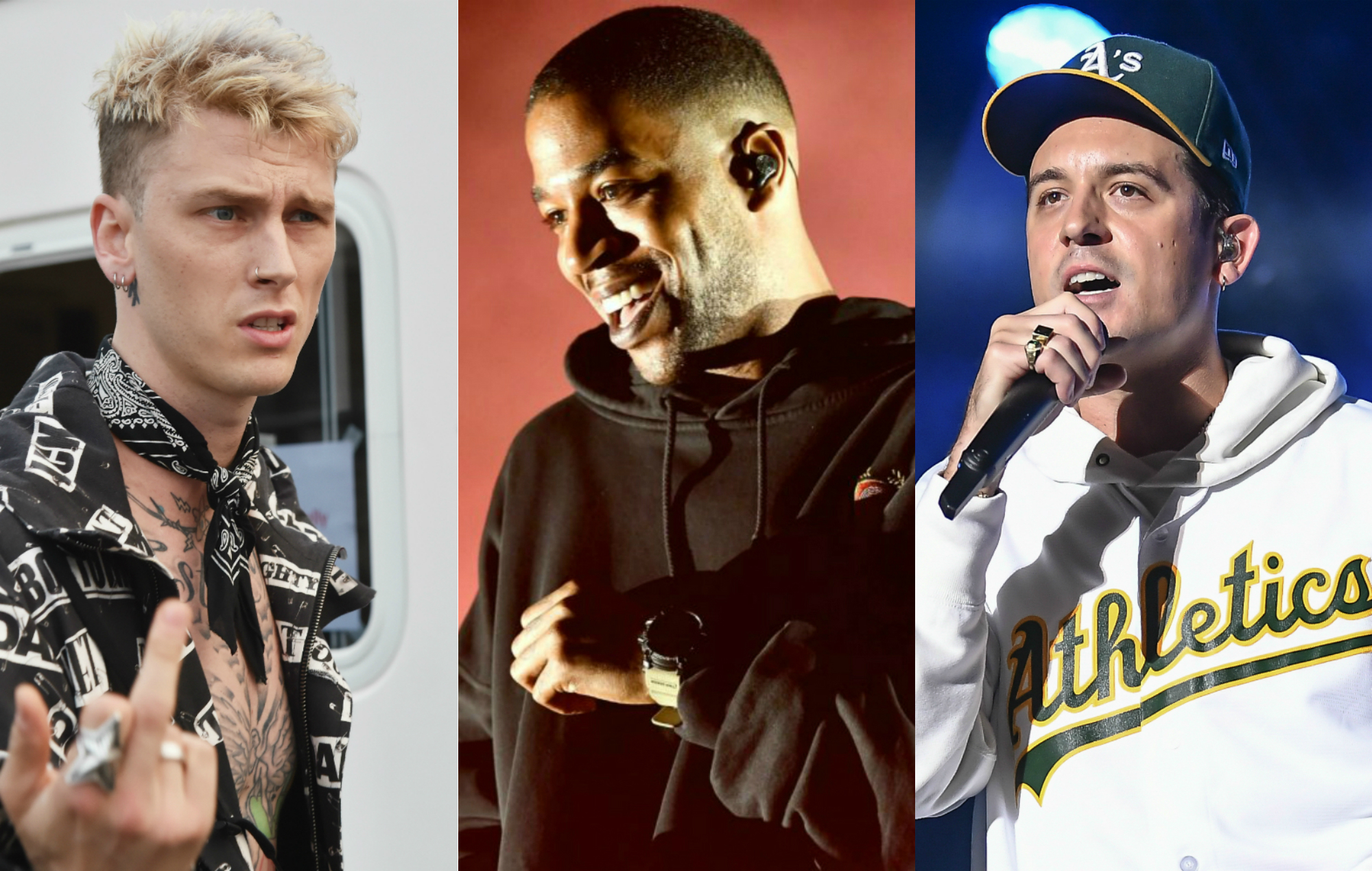 G-Eazy on how Kid Cudi helped settle his feud with Machine Gun Kelly