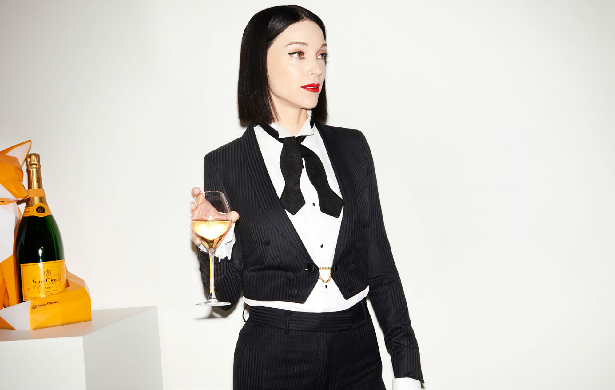 St Vincent is opening her own champagne bar in London next month