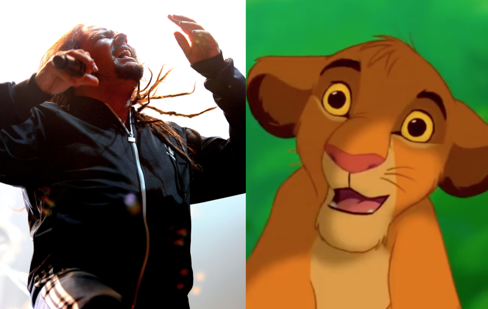 Lion Korn: Someone has mashed up Korn's 'Freak on a Leash' with the Lion King's 'Circle of Life'