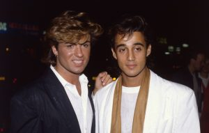 George Michael and Andrew Ridgeley of Wham!