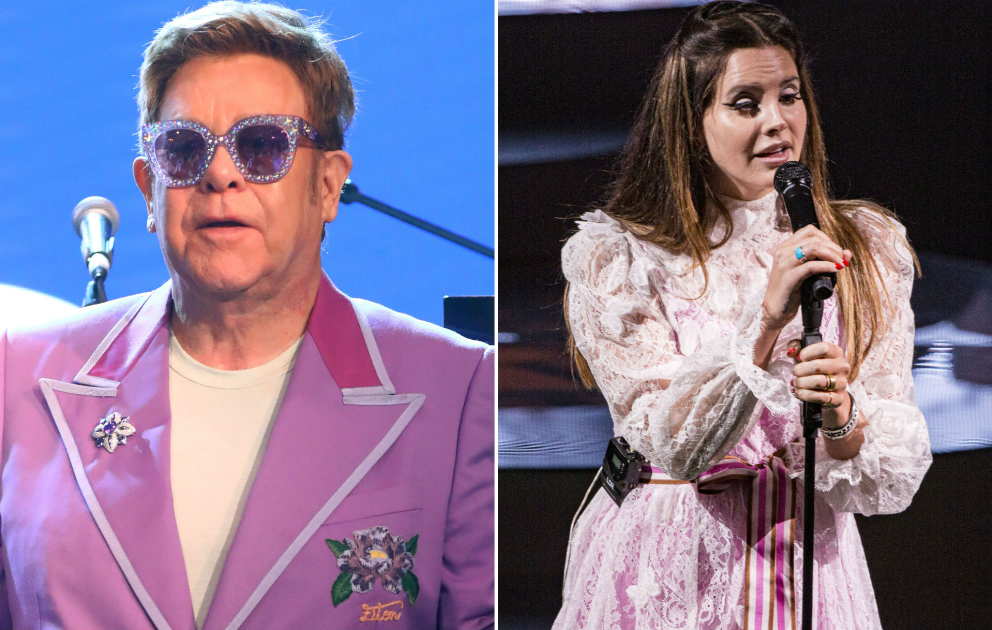 Lana Del Rey Grilled By Elton John On Notorious Snl