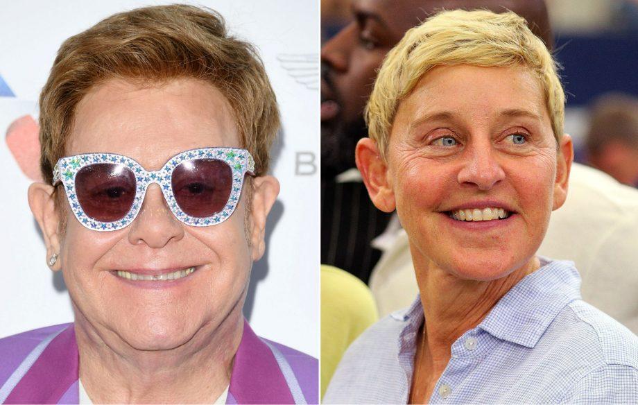 Elton John backs Ellen DeGeneres amid controversial George W Bush friendship