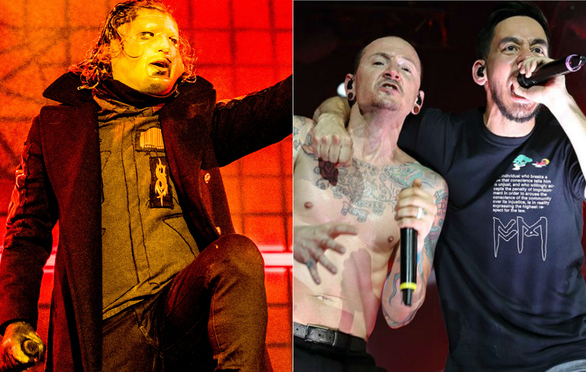 Here's Slipknot's 'Psychosocial' covered in the style of Linkin Park
