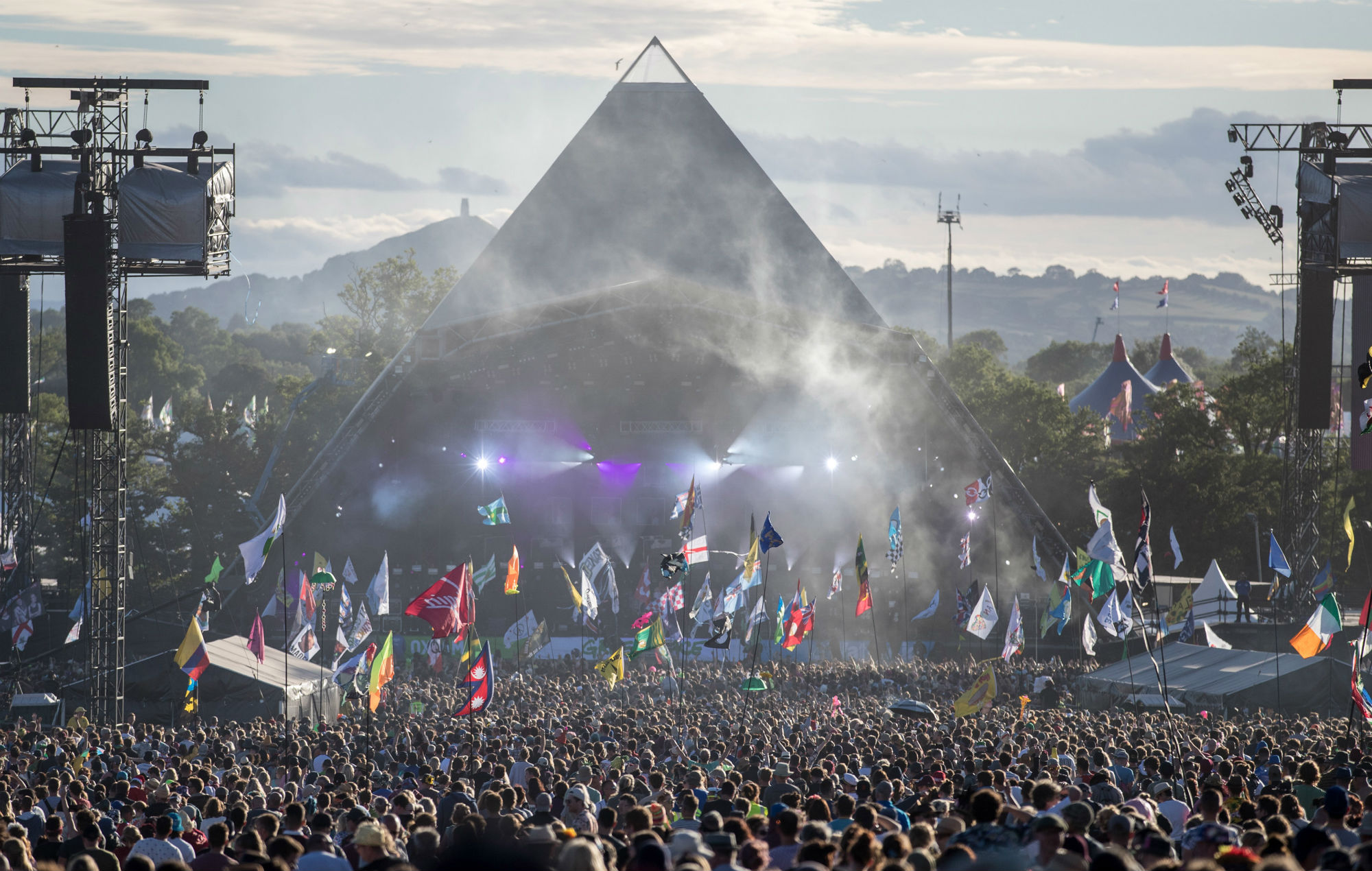 Rare Glastonbury footage from 1983 has been rediscovered