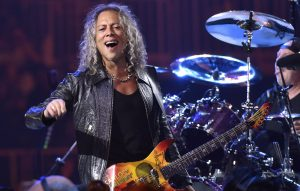 "Kirk Hammett has ""a lot of kick ass material"" for Metallica's next album"