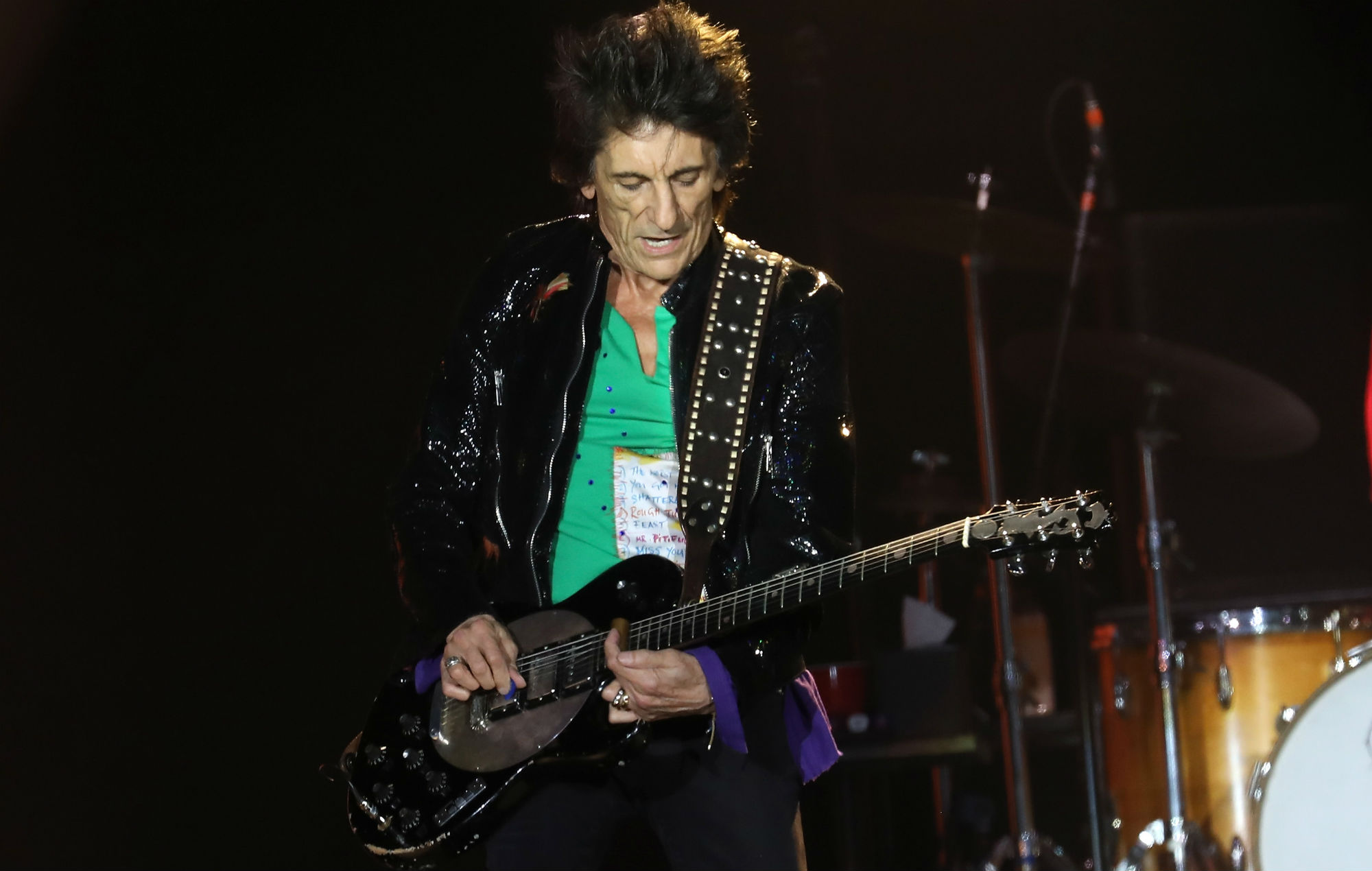 The Rolling Stones' Ronnie Wood took bunsen burner to smoke cocaine at parties