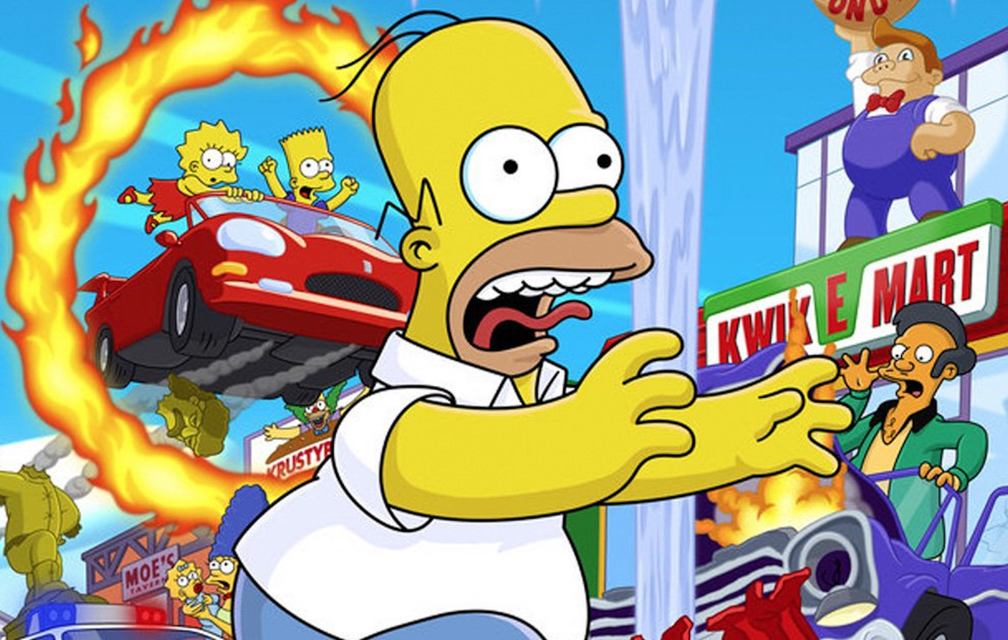 'The Simpsons: Hit & Run' producer hints that the game could be remastered