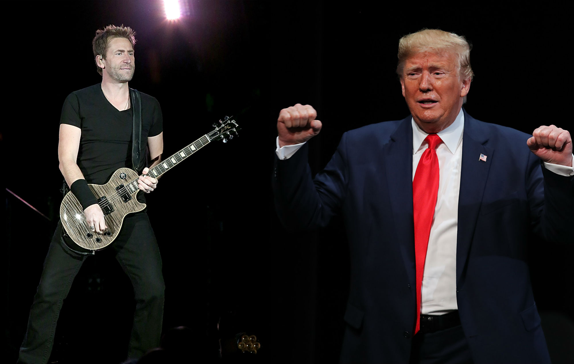 Nickelback see huge spike in 'Photograph' streams after Donald Trump tweet