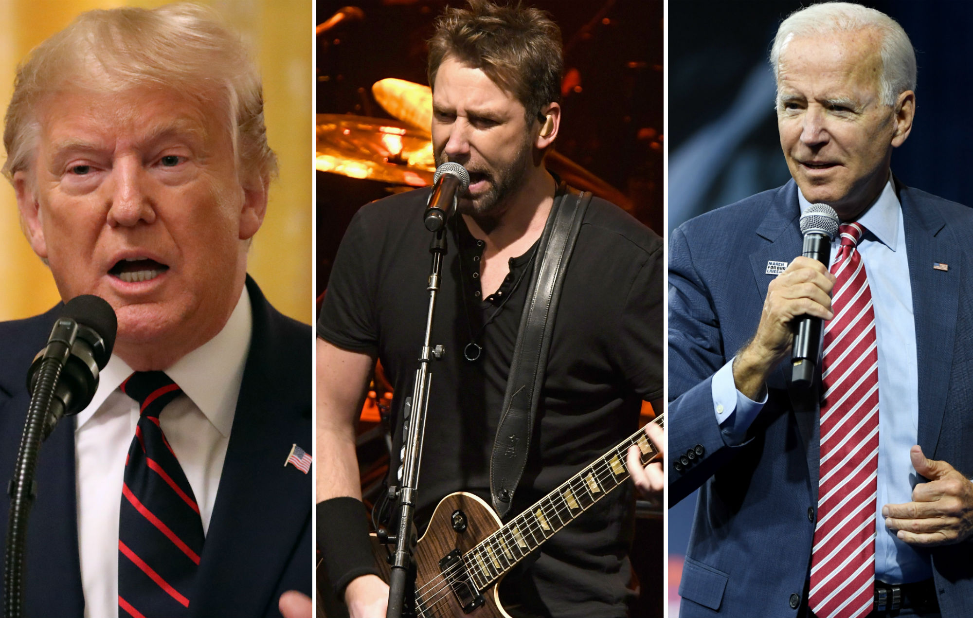 Nickelback remove viral Twitter video after it's posted by Donald Trump
