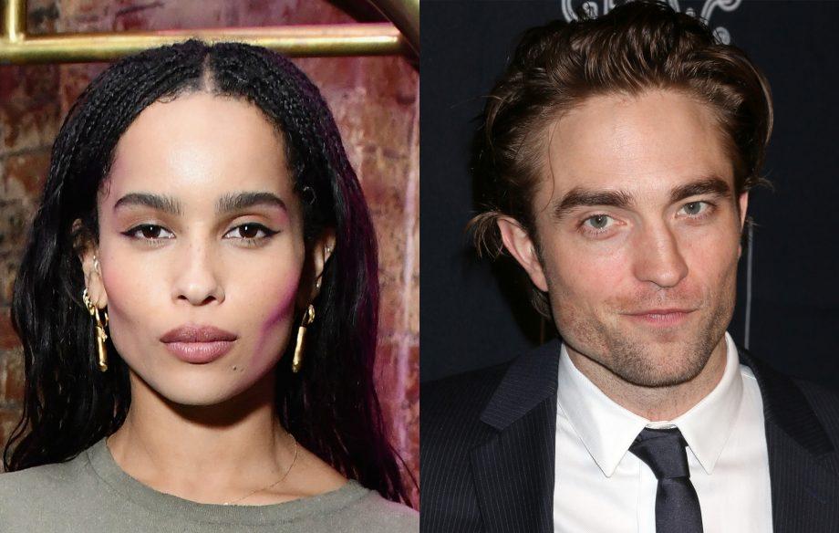 Zoë Kravitz cast as Catwoman opposite Robert Pattinson's Batman