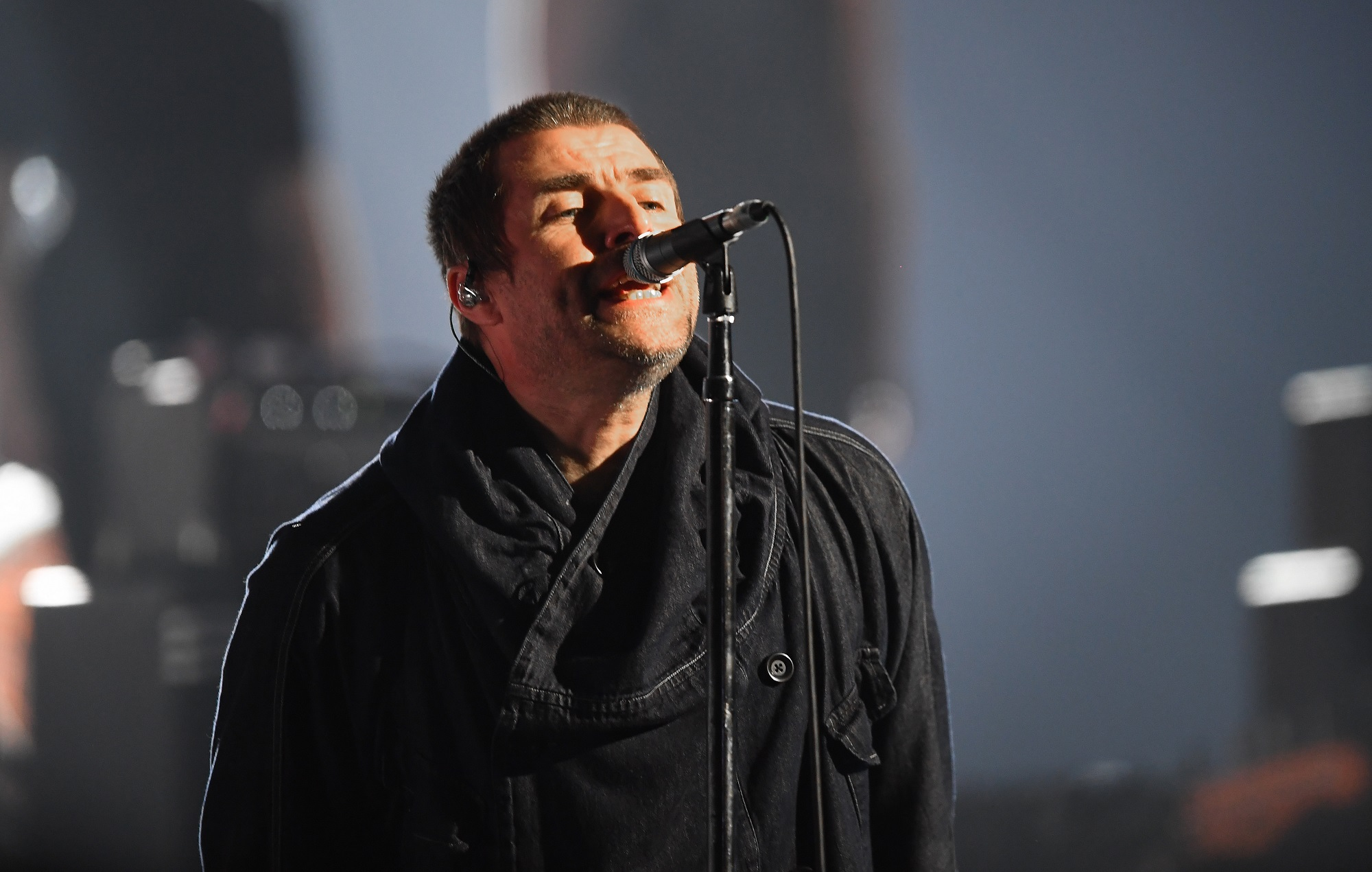 Liam Gallagher is encouraging people to part with their parkas for the homeless