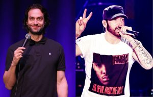 "Comedian Chris D'Elia talks about finally meeting Eminem: ""the craziest fucking thing"""