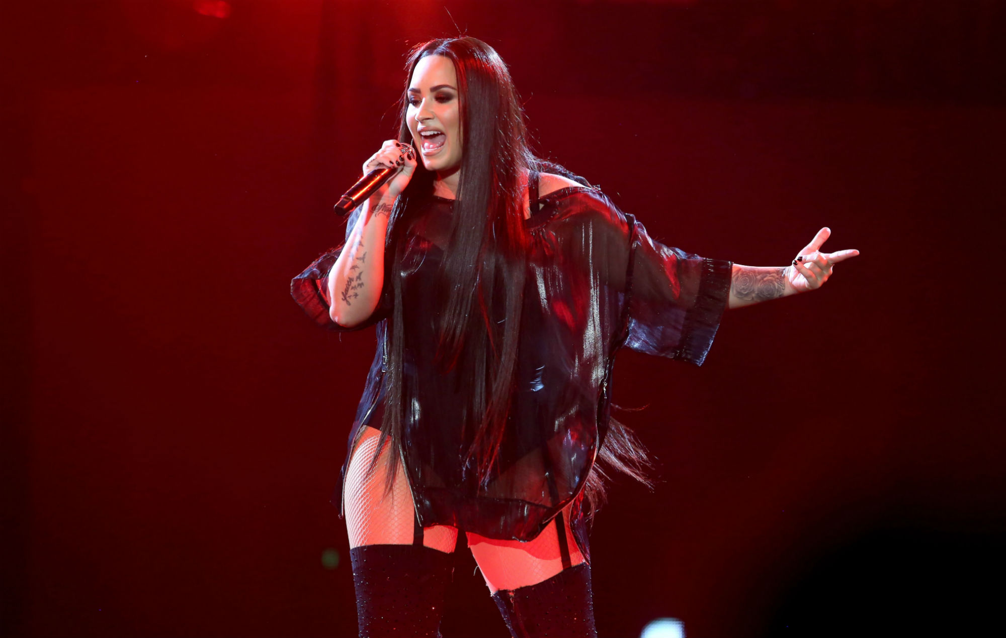 """Demi Lovato teases new music is on the way for her """"loyal"""" fans"""