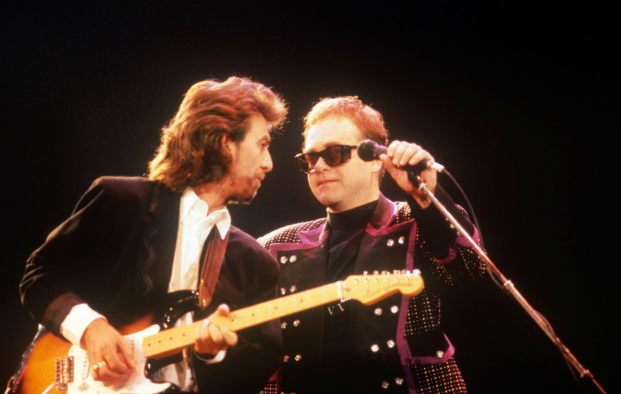 "Elton John recalls how George Harrison helped him during drugs battle: ""Stop putting that marching powder up your nose"""