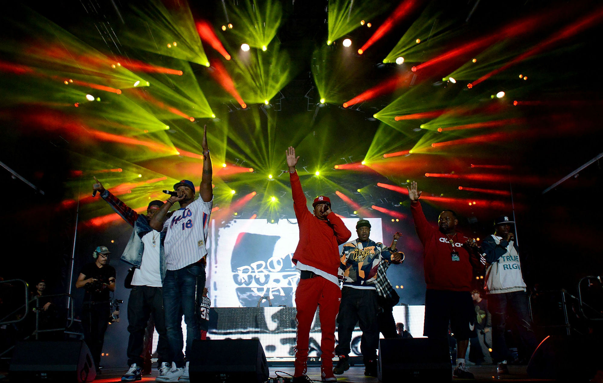 A Wu-Tang Clan theme park is being planned