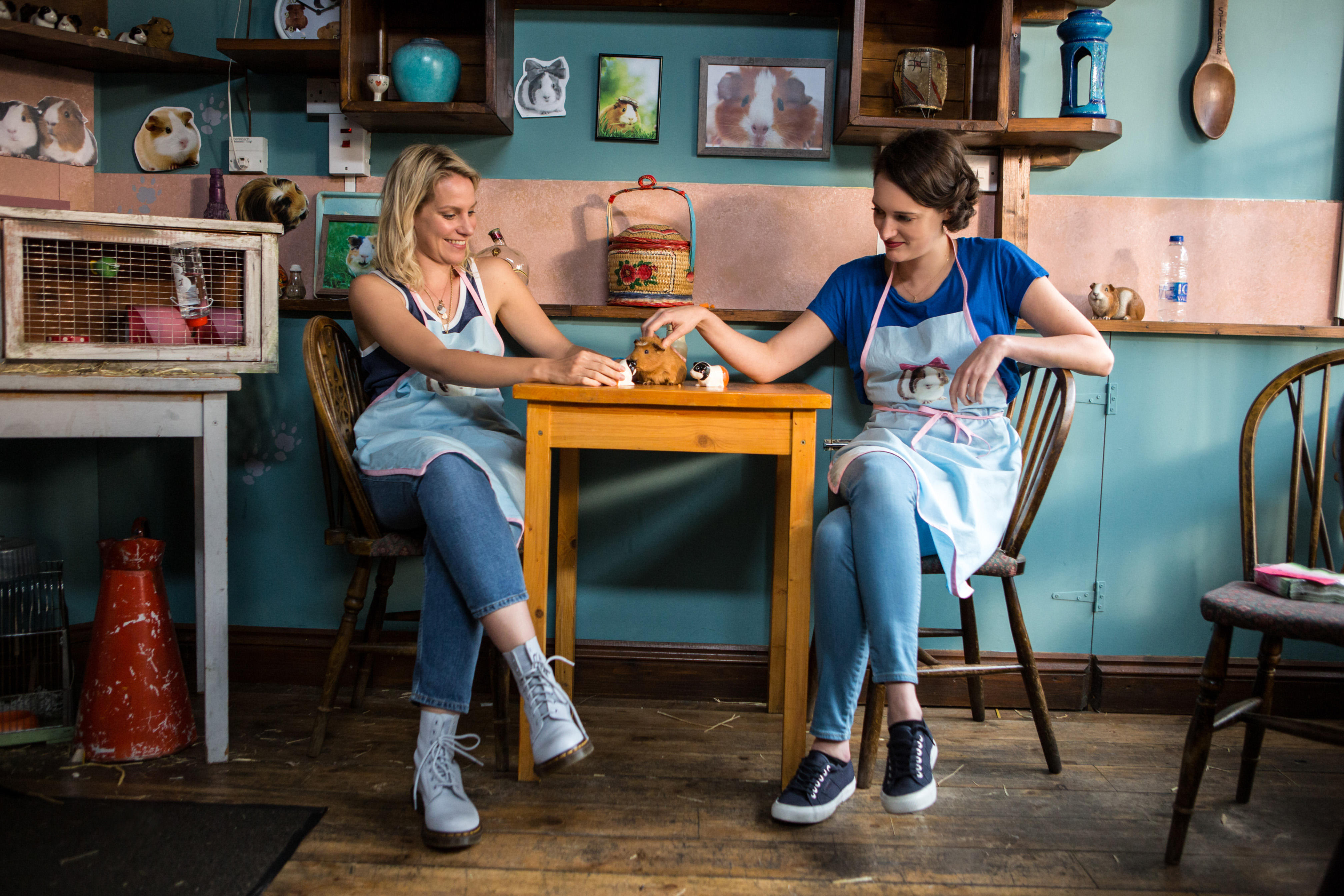 Fancy a Chatty Wednesday? Real-life version of 'Fleabag's guinea pig cafe opens in London
