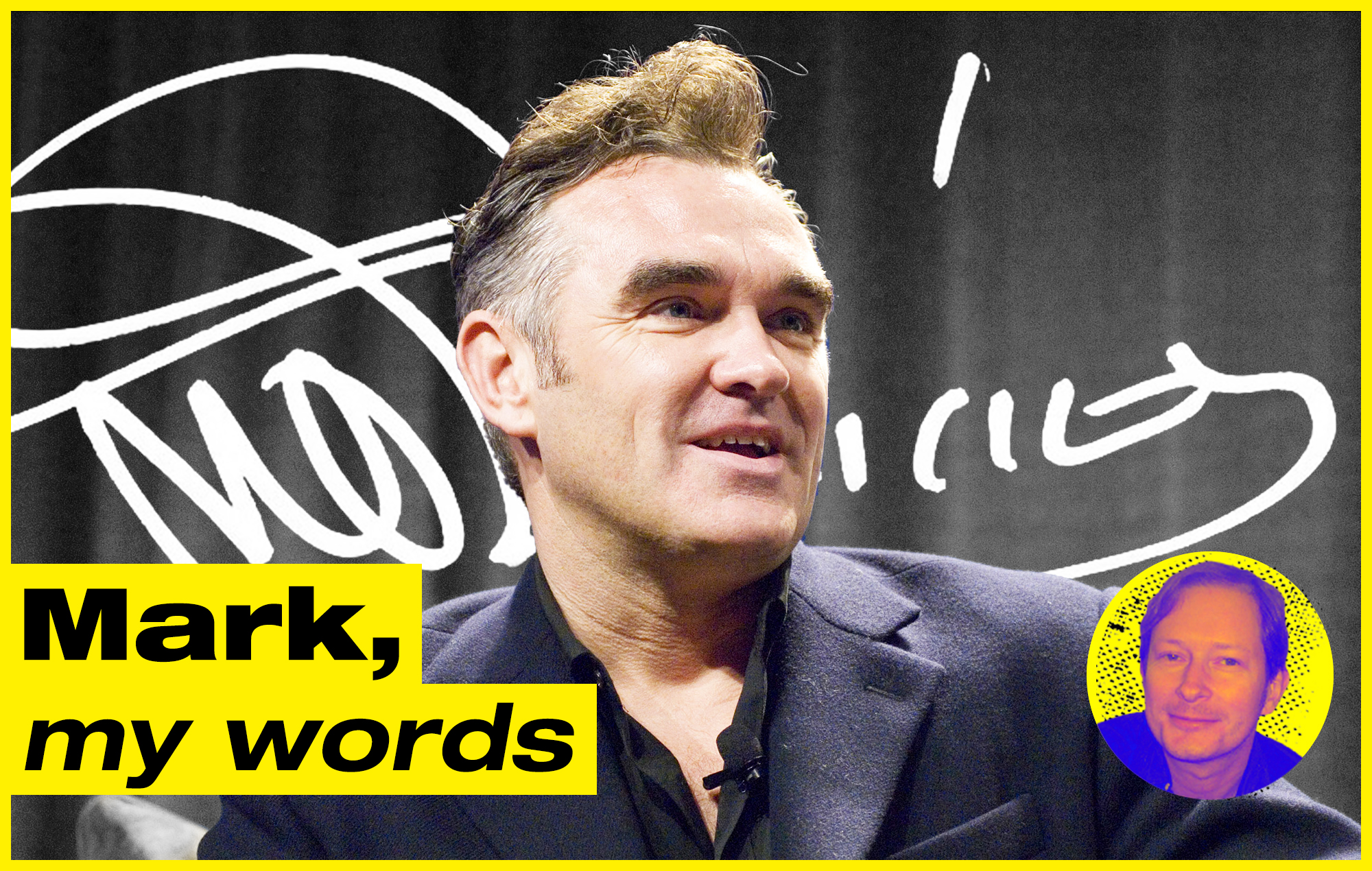 Mark, My Words: Morrissey's latest stunt misses the point – it's not the autograph fans want, it's the moment with their idol