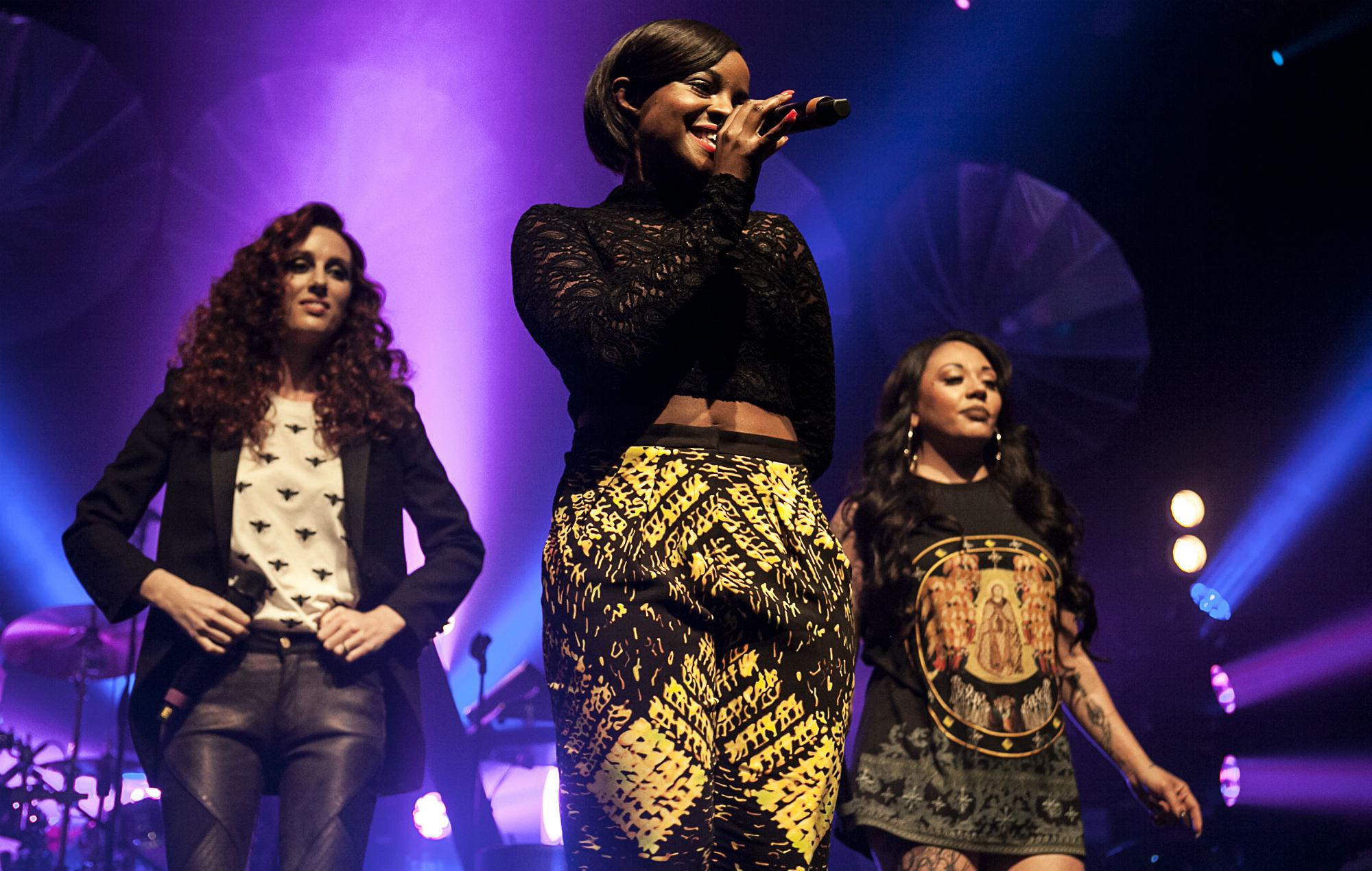 Mutya Buena, Keisha Buchanan and Siobhan Donaghy drop a hint about new material as Sugababes