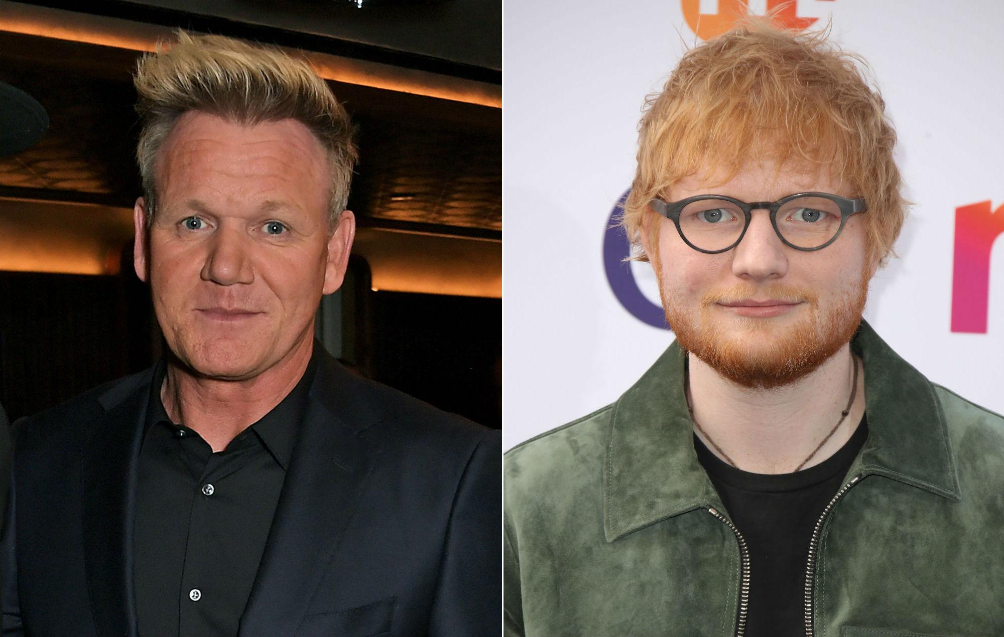 Gordon Ramsay hires Ed Sheeran to perform at his daughter's 18th birthday