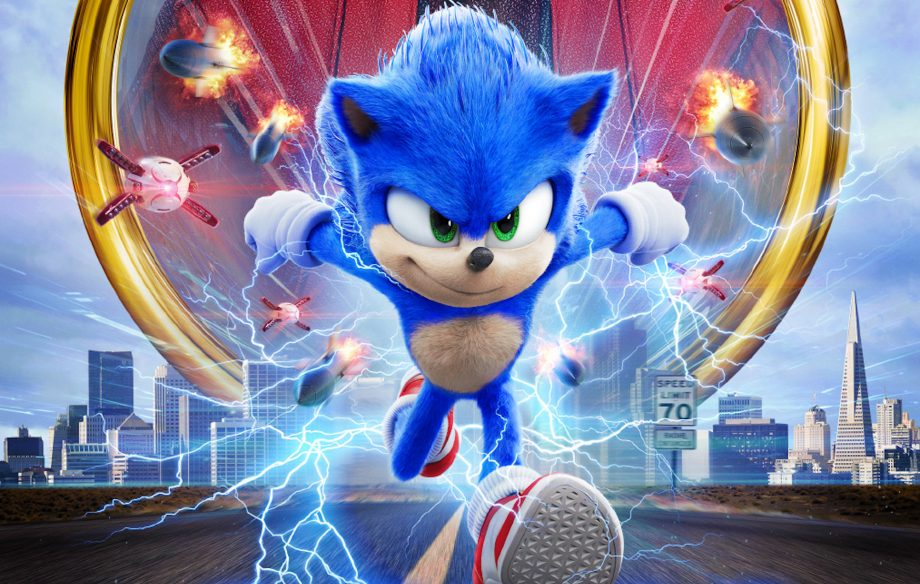Image result for sonic the hedgehog movie old vs new