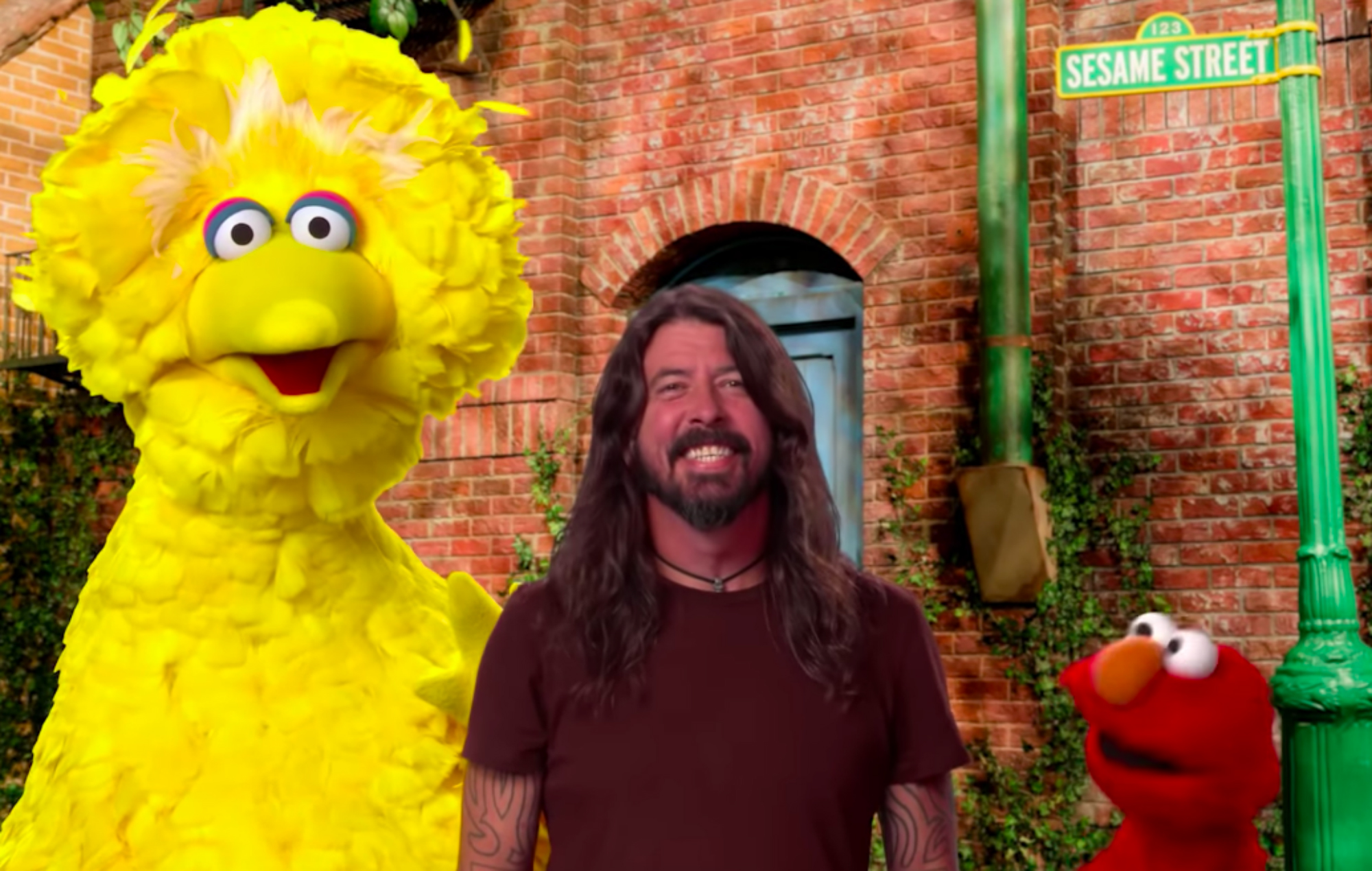 Watch Dave Grohl perform the wholesome 'Here We Go Song' on 'Sesame Street'