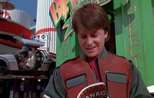 Michael J. Fox in 'Back To The Future 2' (1989)