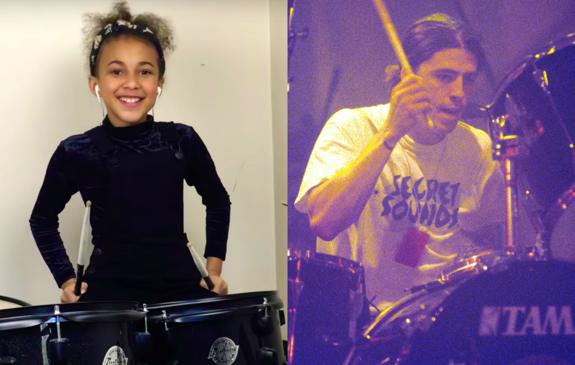 Nine-year-old's awesome drum cover of Nirvana's 'In Bloom' goes viral – watch