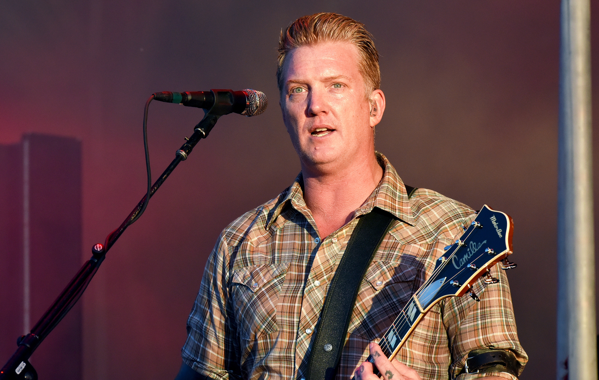"Josh Homme says he's ""always ready to be in Them Crooked Vultures again"""