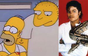 Michael Jackson / The Simpsons