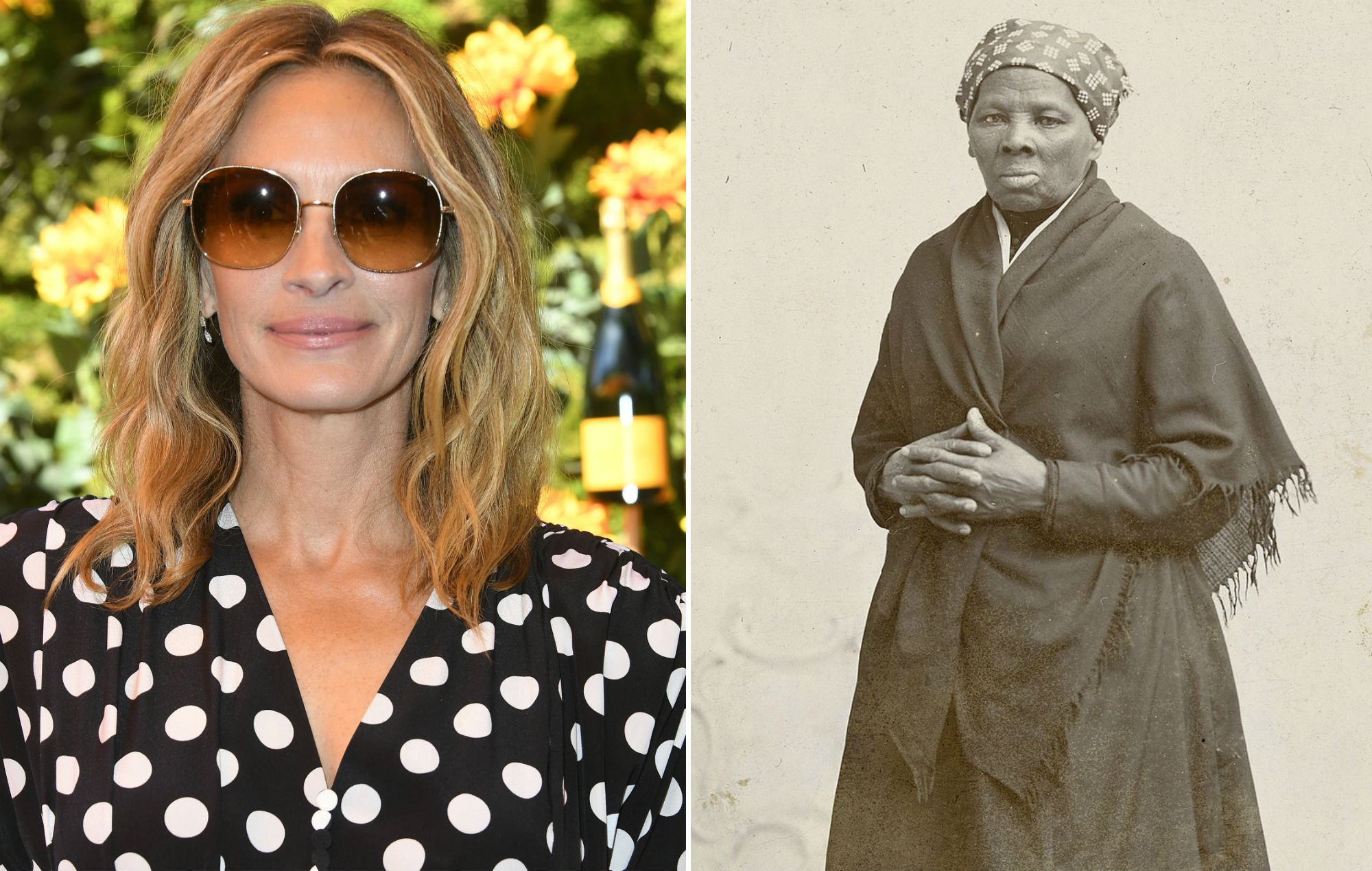 Julia Roberts was originally suggested to play Harriet Tubman in biopic