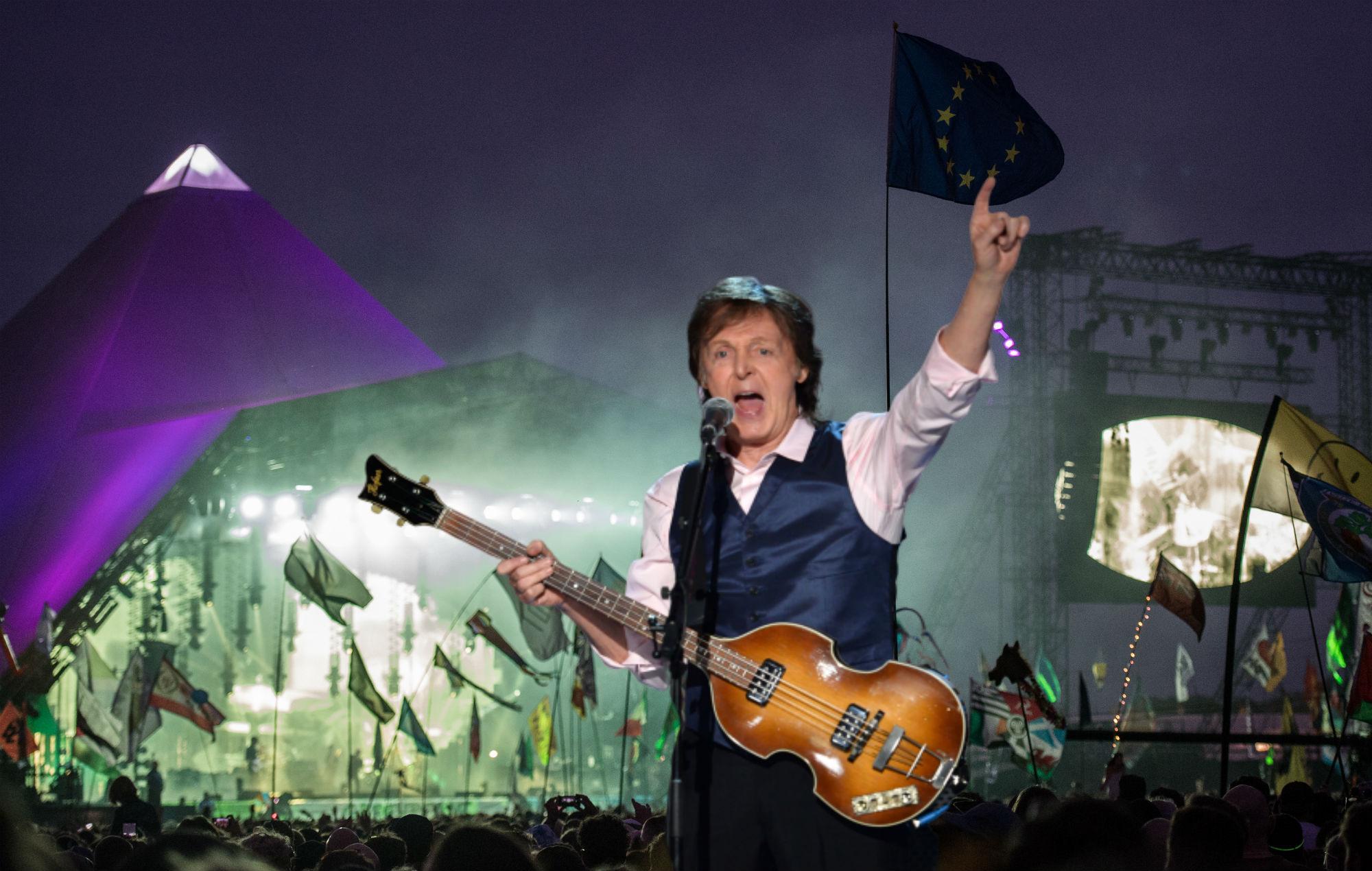 Emily Eavis confirms Paul McCartney will headline Glastonbury