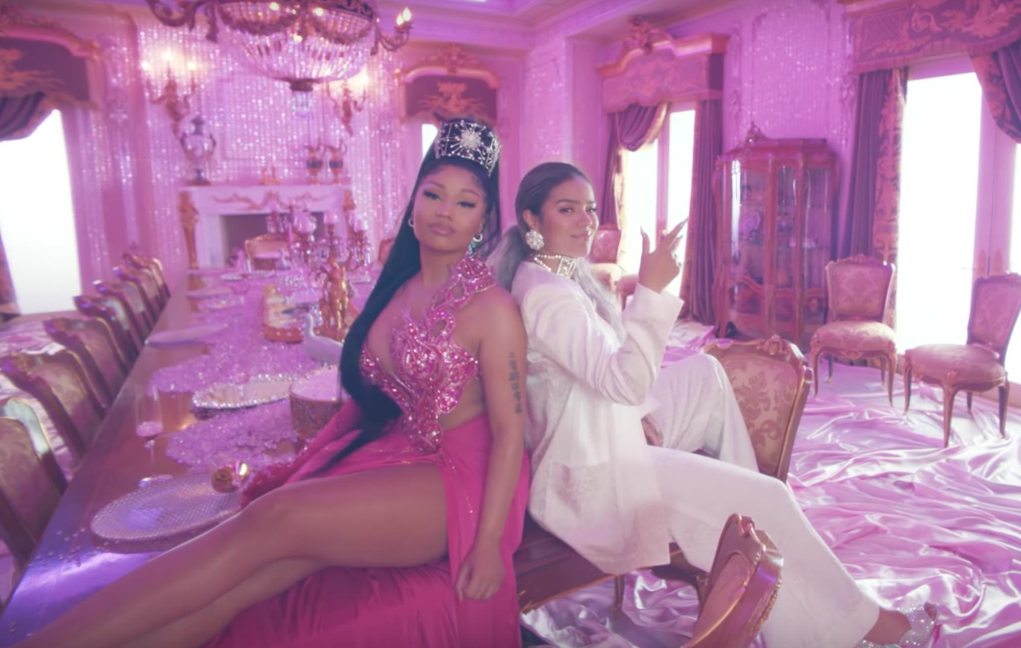Hear Nicki Minaj rap in Spanish on Karol G's new song, 'Tusa'