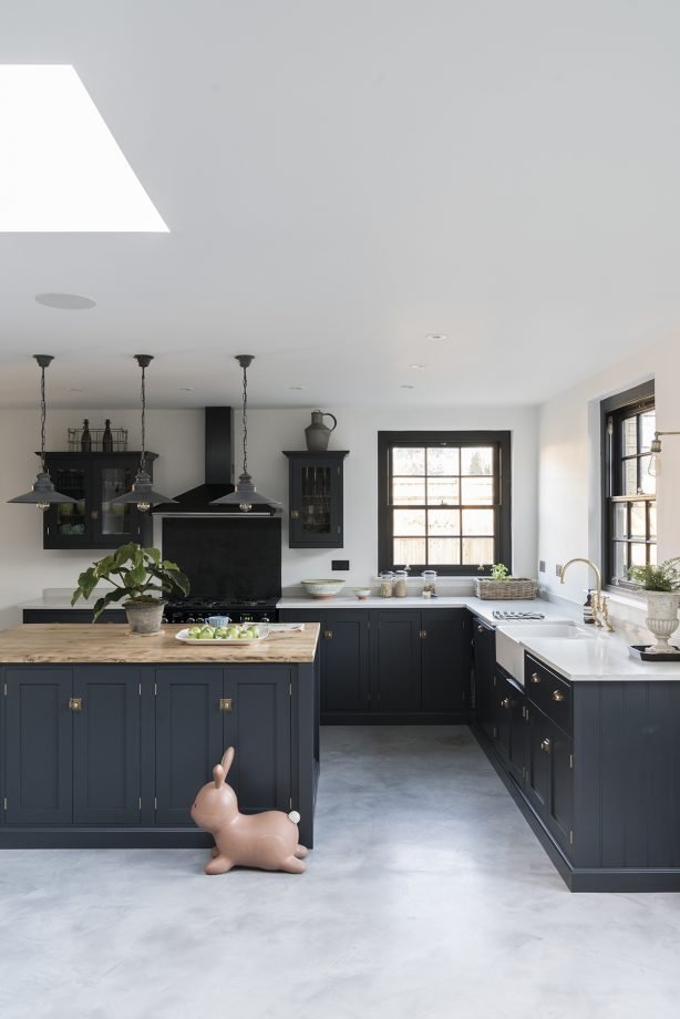 Painted Kitchen Cabinets And Cupboards: Kitchen Colour Ideas