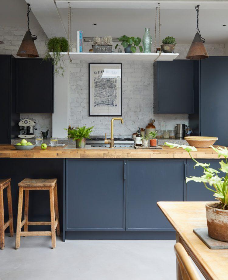 blauwe keukens