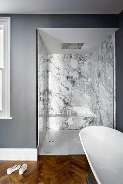 chic marble bathrooms - Modern Bathroom Ideas