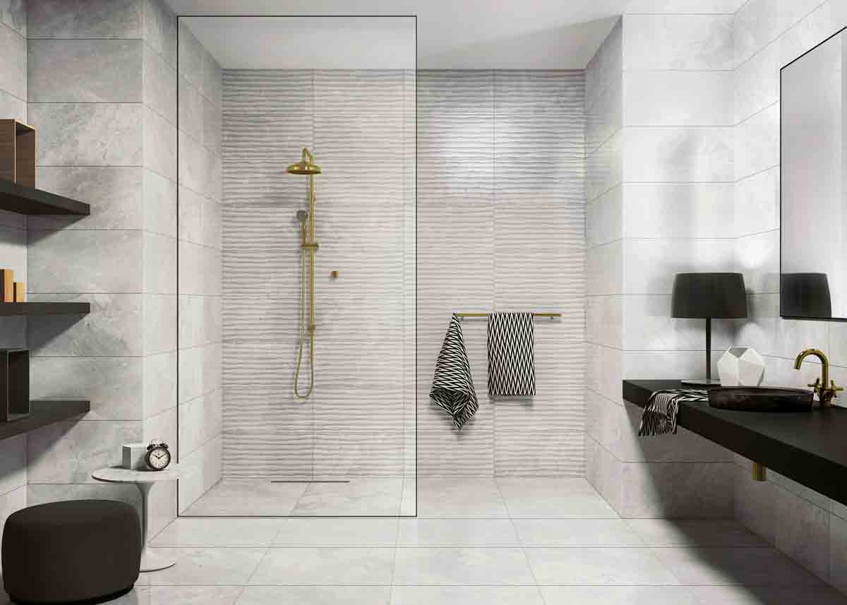 Latest Bathroom Design £24.99sq m, Gemini Tiles, ctdtiles.co.uk