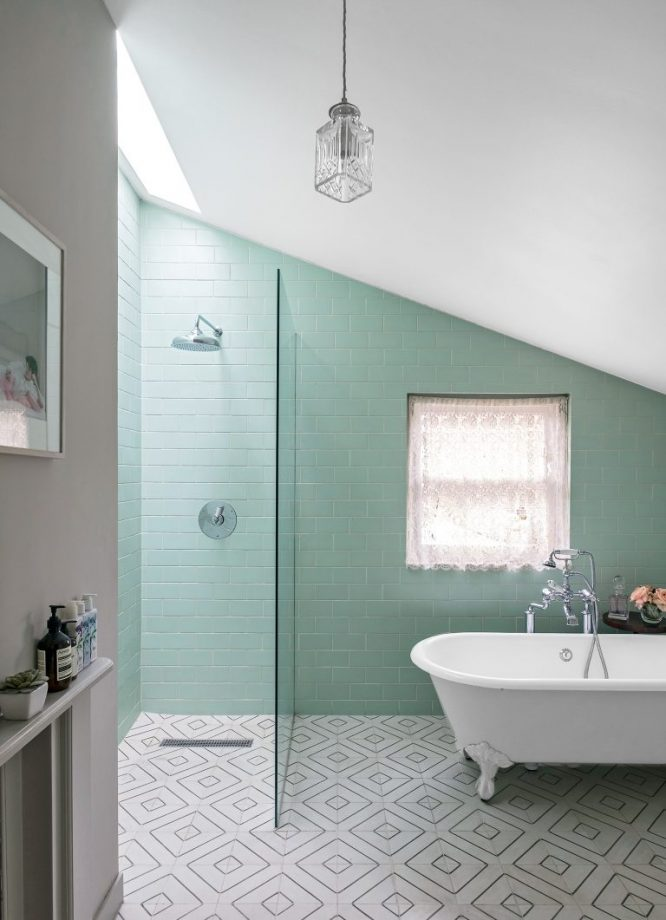 Cool Bathroom Tile Ideas From Metro Tiles To Fish Scale