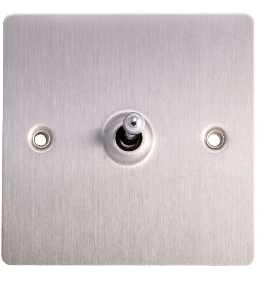 Light Switches That Will Turn Your Home Style Up A Notch 2 Way Flush Switch Function Holder Single Brushed Steel 8 Bq