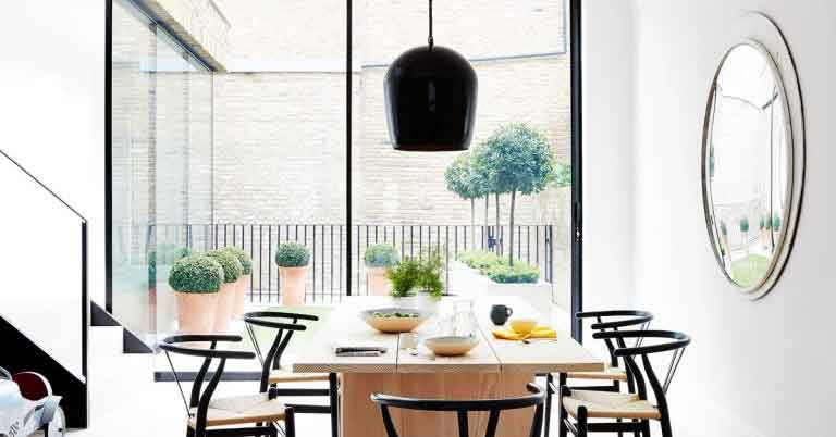 Step inside this uber cool Scandi-inspired six-storey home in southwest London