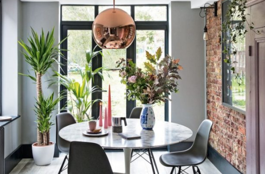 Dare to bare with exposed brick walls