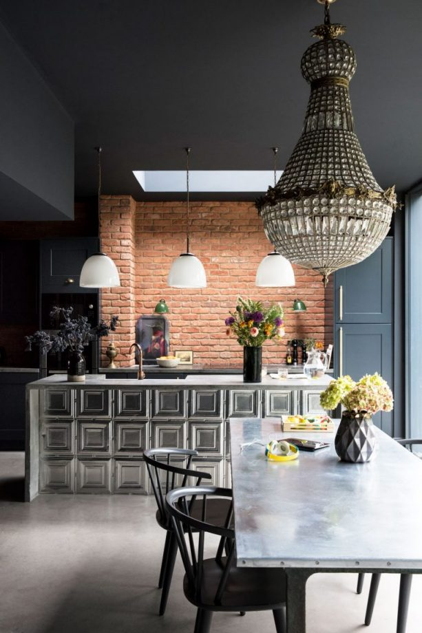 IN THE RAW: IDEAS FOR EXPOSED BRICK WALLS