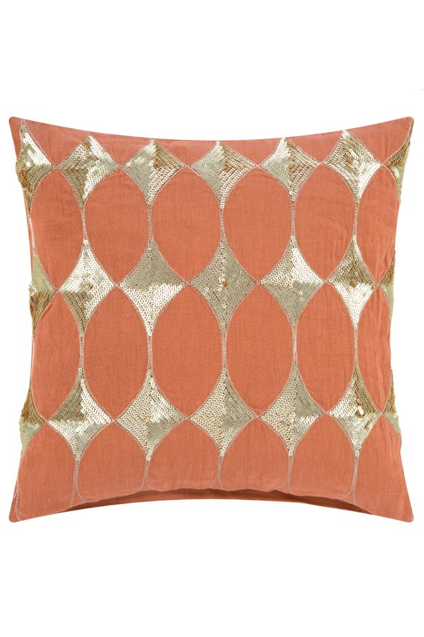 Up a notch: 8 of the best embellished cushions