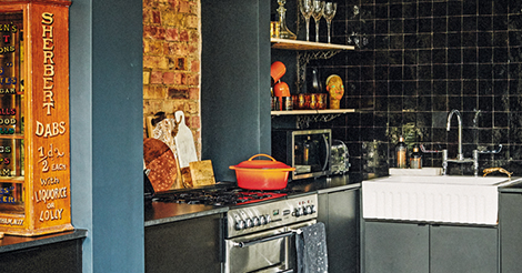 Hot hues: experimenting with colour in the kitchen | Livingetc