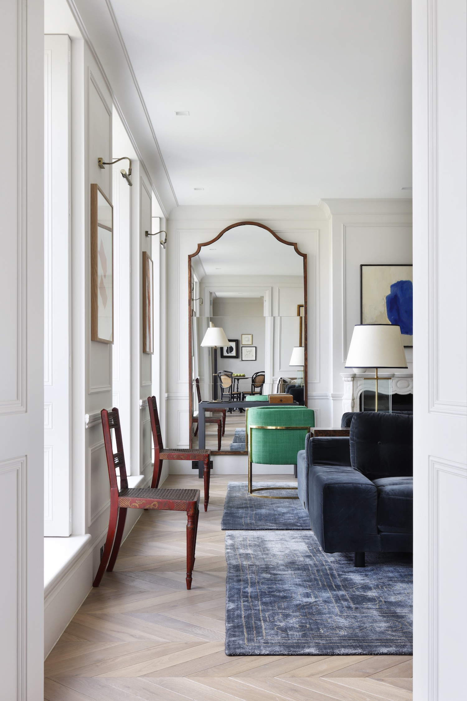 Explore A Notting Hill Penthouse With Elegant Parisian Inspired Interiors